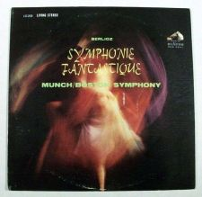 Buy BERLIOZ ~ Symphonie Fantastique / Munch - Boston Symphony Classical LP