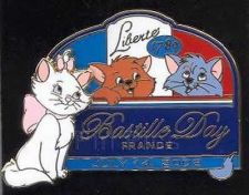 Buy Marie Toulouse Berlioz Bastille Day authentic Disney Aristocats pin/pins