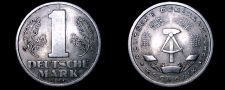 Buy 1956 A German Democratic Republic 1 Mark World Coin - East Germany