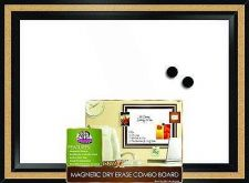 """Buy White Dry Erase Board 18"""" x 22"""" Magnetic Drawing Writing School Cork Frame Note"""