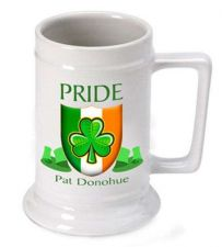 Buy Irish Pride Beer Stein - Free Personalization