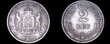 Buy 1924 Romanian 2 Lei World Coin - Romania