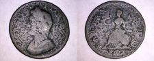 Buy 1733 Great Britain 1 Farthing World Coin - UK - England - George II