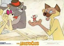 Buy Disney Aristocats Walt Disney Productions Lobby Card