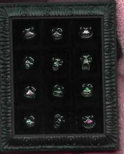 Buy Nightmare before Christmas NMBC 12 faces of Jack framed 12 pins in set pin/pins