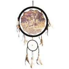 "Buy 13"" Deer Dream Catcher ***ON SALE***"