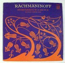 Buy RACHMANINOFF ~ Etudes-Tableaux, Op. 33 and Op. 39 / Classical LP