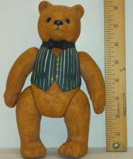 "Buy THE ORIGINAL - ""Ted D. Bear"" (8"") Ceramic Collectable 1983- Movable Limbs/Joints"