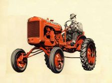 Buy ALLIS CHALMERS B & C TRACTOR MANUALs Operations Maintenance Implements & Tuning