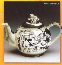 Buy Disney Steamboat Willie Mickey Teapot rare