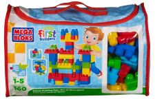 Buy Mega Bloks First Builder Deluxe Building Bag Toddler Bold ColorFul 300P Toy Set