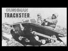 Buy CUSHMAN TRACKSTER SERVICE OPERATIONS & PARTS MANUALs