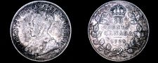 Buy 1928 Canada 10 Cent World Silver Coin - Canada - George V