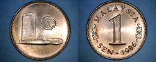 Buy 1986 Malaysian 1 Sen World Coin - Malaysia
