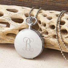 Buy Women's Clock Pendant Necklace - Free Personalization