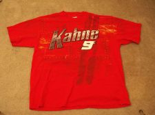 Buy Nascar Kahne 9 Red Shirt - Office Nascar 2XL Shirt 100% Cotton -Richard Petty