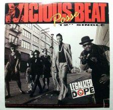 """Buy VICIOUS BEAT POSSE ~ """" Legalized Dope """" 1989 Rap/Hip Hop Maxi-Single"""