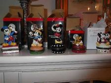 Buy Mickey Mouse Minnie Mouse Pluto PHB Disney Porcelain Hinged Boxes set of 5