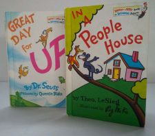 Buy Pair Dr Seuss Book (2) 72'/74' Good + Condition-Vintage