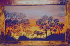Buy Summer Night ~ The warm glow of a summer sunset reminiscent of the African~5