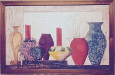 Buy Vases ~ A still life rendering of one of the more peaceful, quiet moments ~2