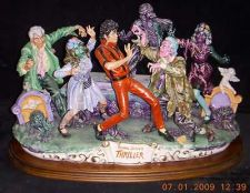 Buy Michael Jackson Thriller Capodimonte 1 of 6 ever made