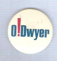 Buy New York Senate Candidate: O'Dwyer Political Campaign Button~18