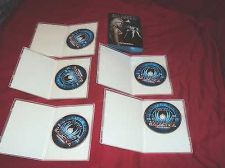 Buy BATTLESTAR GALACTICA SEASON 1 ONE DVD 5 DISCS BOX ART CASES & ART MINT TO NRMNT