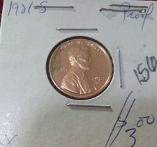 Buy 1981-S 1C Type 1 RD (Proof) Lincoln Cent