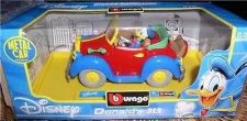 Buy Disney Donald Duck convertible Die Cast Metal Italy car