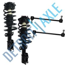Buy Set of 2 Front Driver and Passenger Ready Strut Assembly + 2 Sway Bar Link Kit