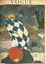 Buy Vogue 1919 Cover Print Man Lady Storm by Lepape Art Deco 1984 original print