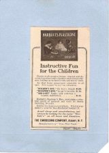 Buy New York Albany Small Magazine Ad For Childrens Toy From The Embossing Com~827