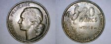 Buy 1953 French 20 Franc World Coin - France