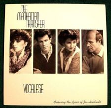 Buy THE MANHATTAN TRANSFER ~ Vocalese 1985 Pop LP
