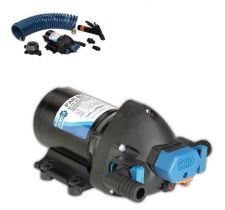 Buy New Marine Boat JABSCO 32900 WASHDOWN PUMP W/ STRAINER NOZZLE 25' HOSE Kit water
