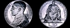 Buy 1948 Vatican City 10 Lire World Coin - Catholic Church Italy