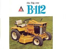 Buy ALLIS CHALMERS B-112 SIMPLICITY 3012 TRACTOR MANUALs 75pg Operations Parts List