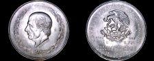 Buy 1952 Mexican 5 Peso World Silver Coin - Mexico