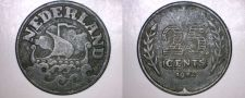 Buy 1942 Netherlands 25 Cent World Coin