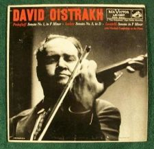 Buy DAVID OISTRAKH ~ Prokofieff / Leclair / Locatelli Classical LP