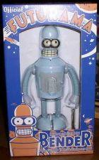 Buy Futurama Tin Wind up Robot Grey Bender Rocket USA