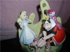 Buy Alice in Wonderland Villain Queen of Hearts Cheshire Porcelain Bisque WD