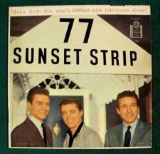 Buy 77 SUNSET STRIP *** 1959 TV Soundtrack LP