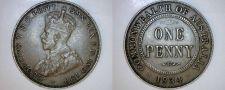Buy 1934 (m) Australian 1 Penny World Coin - Australia