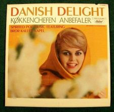 Buy DANISH DELIGHT ~ Kokkenchefen Anbefaler / Bror Kalle's Kapel 1960's Pop LP