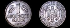 Buy 1950 J German 1 Mark World Coin - Germany
