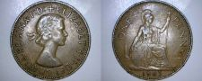 Buy 1963 One Penny World Coin - Great Britain - UK - England
