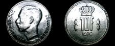 Buy 1976 Luxembourg 10 Franc World Coin