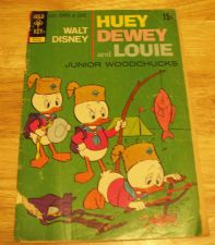 Buy Walt Disney Huey Dewey Louie Gold Key Comic Book 1967